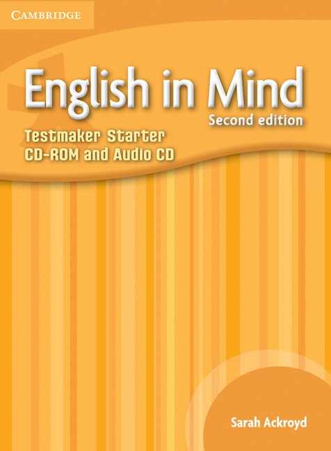 English in Mind Starter Level Testmaker CD-ROM and Audio CD networking in english cd rom