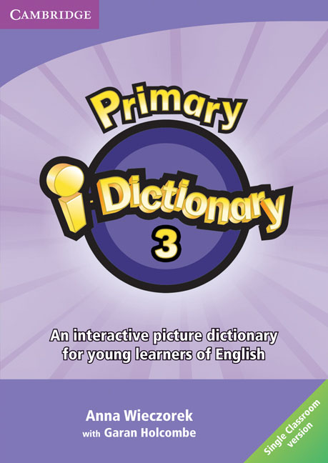 Primary i-Dictionary Level 3 DVD-ROM (Single classroom) cambridge learner s dictionary english russian cd rom