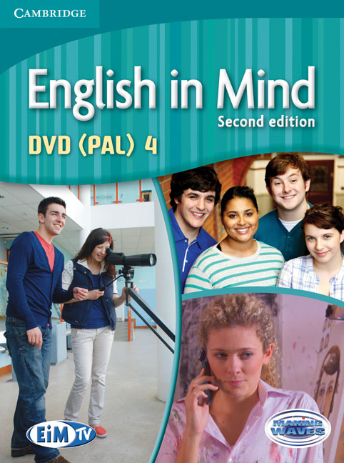 English in Mind Level 4 DVD (PAL) morris c flash on english for tourism second edition