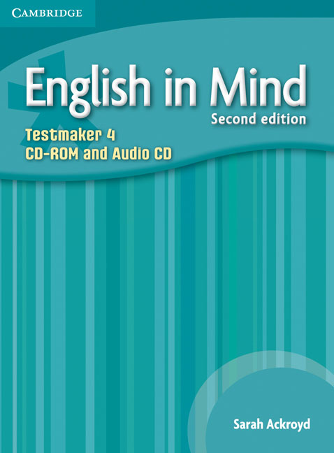 English in Mind Level 4 Testmaker CD-ROM and Audio CD networking in english cd rom