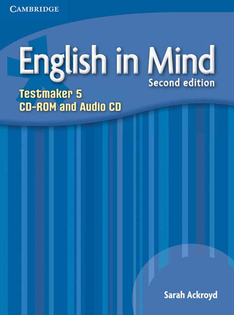 English in Mind Level 5 Testmaker CD-ROM and Audio CD networking in english cd rom