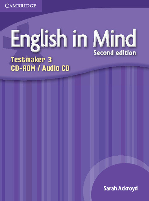 English in Mind Level 3 Testmaker CD-ROM and Audio CD networking in english cd rom