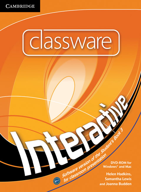 Interactive Level 3 Classware DVD-ROM tree or three an elementary pronunciation course