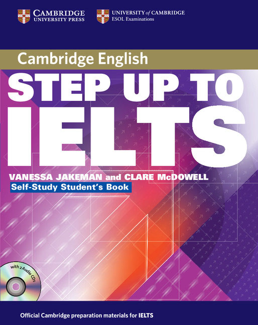 Step Up to IELTS Self-study Pack longman introductory course for the toefl test the paper test audio cds