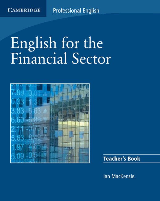 Фото English for the Financial Sector Teacher's Book finance and investments