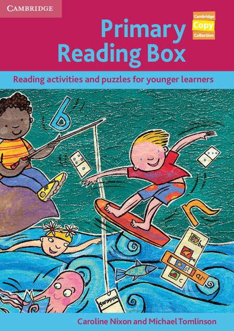 Primary Reading Box caroline nixon michael tomlinson primary communication box reading activities and puzzles for younger learners