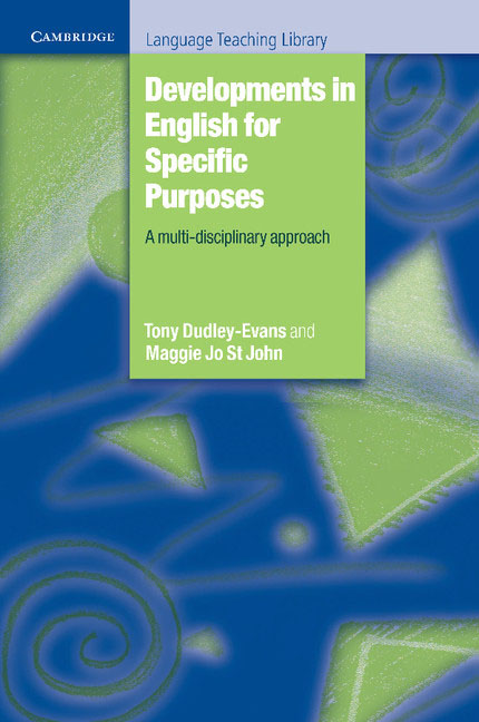Developments in English for Specific Purposes error analysis in spoken english phonological