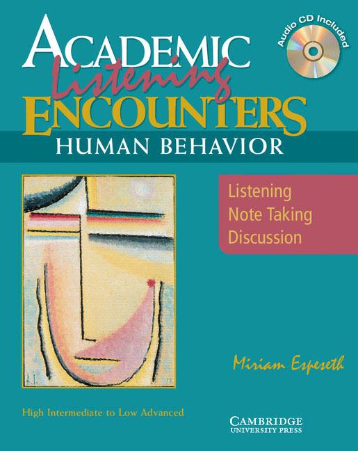 Academic Encounters Human Behavior Student's Book with Audio CD hewings martin thaine craig cambridge academic english advanced students book