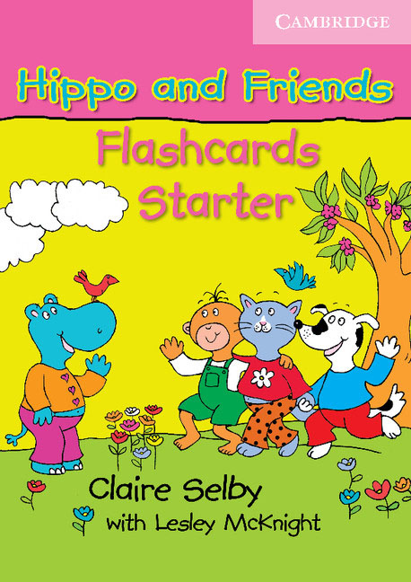 Hippo and Friends Starter Flashcards Pack of 41 123 flashcards