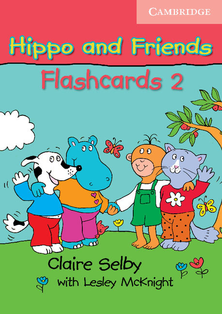 Hippo and Friends 2 Flashcards Pack of 64 123 flashcards