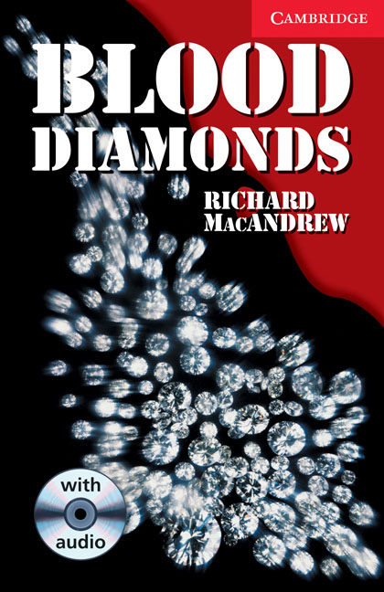 Blood Diamonds Level 1 Book with Audio CD Pack diamonds cd