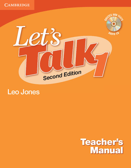 Let's Talk Level 1 Teacher's Manual with Audio CD brown s smith d active listening second edition student s book 2 cd