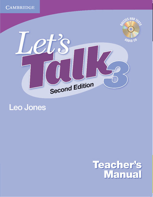 Let's Talk Level 3 Teacher's Manual with Audio CD brown s smith d active listening second edition student s book 2 cd