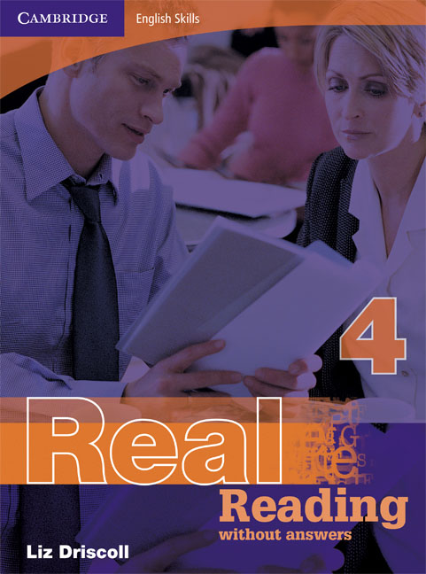 Cambridge English Skills Real Reading 4 without answers palmer g cambridge english skills real writing 1 with answers cd