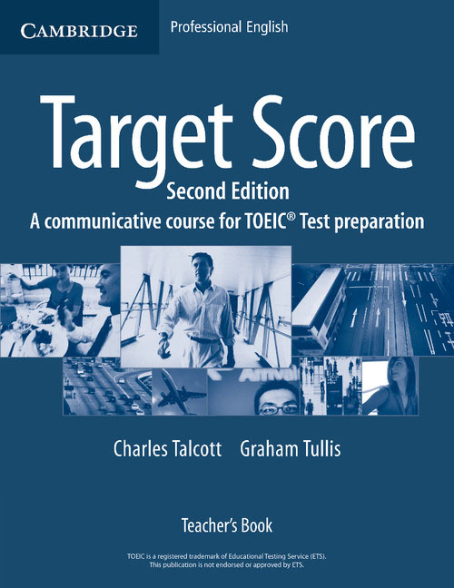Target Score Teacher's Book morris c flash on english for tourism second edition
