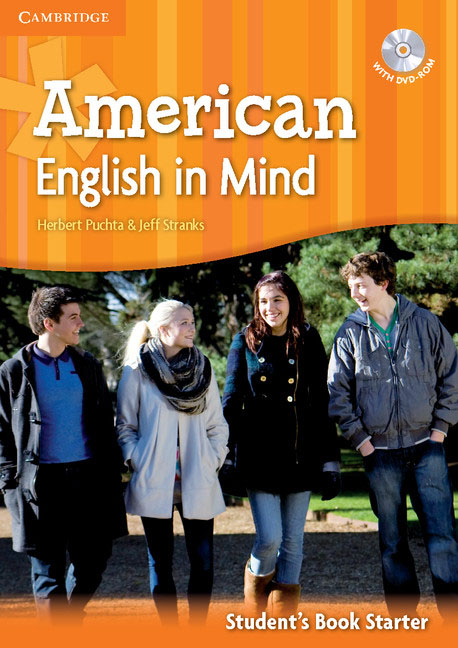 American English in Mind Starter Student's Book with DVD-ROM english with crosswords 3 dvdrom