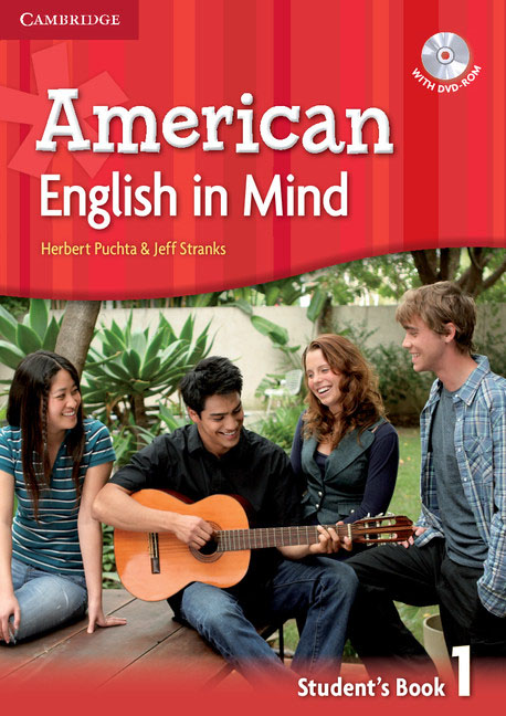 American English in Mind Level 1 Student's Book with DVD-ROM english with crosswords 3 dvdrom