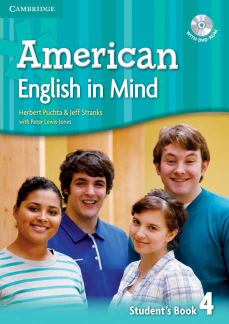 American English in Mind Level 4 Student's Book with DVD-ROM english with crosswords 3 dvdrom