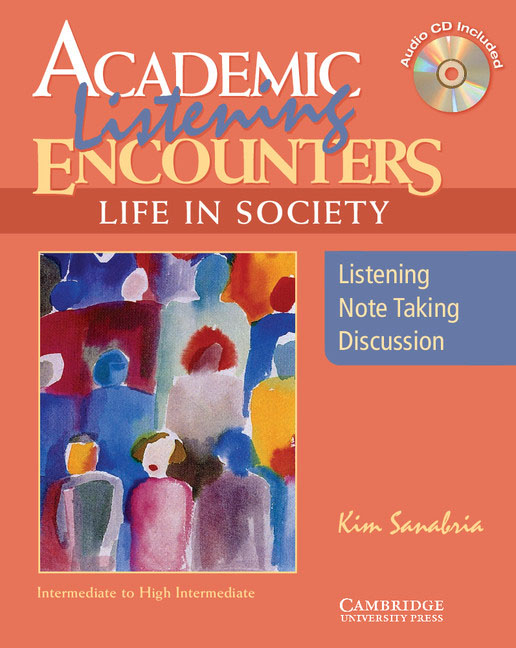 Academic Listening Encounters: Life in Society Student's Book with Audio CD academic listening encounters life in society student s book with audio cd