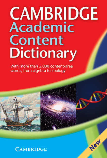 Cambridge Academic Content Dictionary cambridge dictionary of american idioms