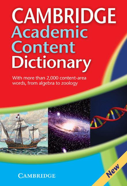 Cambridge Academic Content Dictionary the cambridge world history