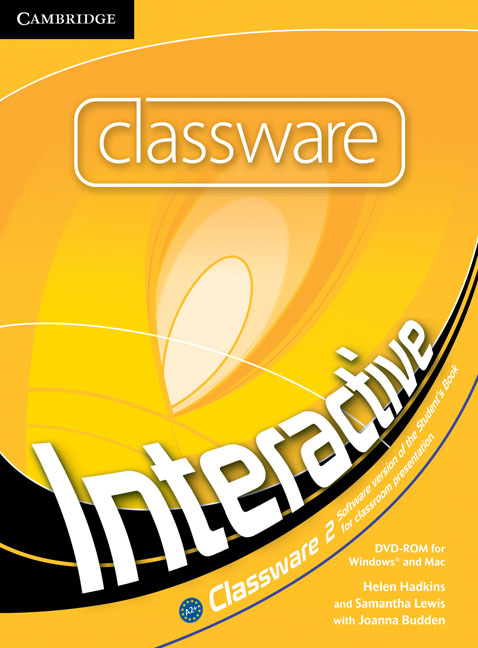 Interactive Level 2 Classware DVD-ROM tree or three an elementary pronunciation course