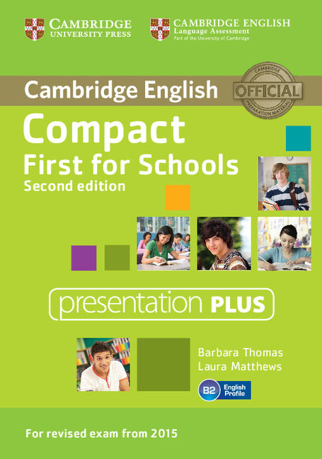 Compact First for Schools Presentation Plus DVD-ROM cambridge english empower starter presentation plus dvd rom