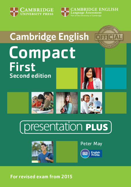 Compact First Presentation Plus DVD-ROM cambridge english empower upper intermediate presentation plus dvd rom