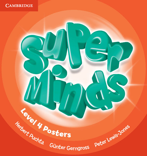 Super Minds Level 4 Posters (10) simple minds simple minds sparkle in the rain 4 cd dvd