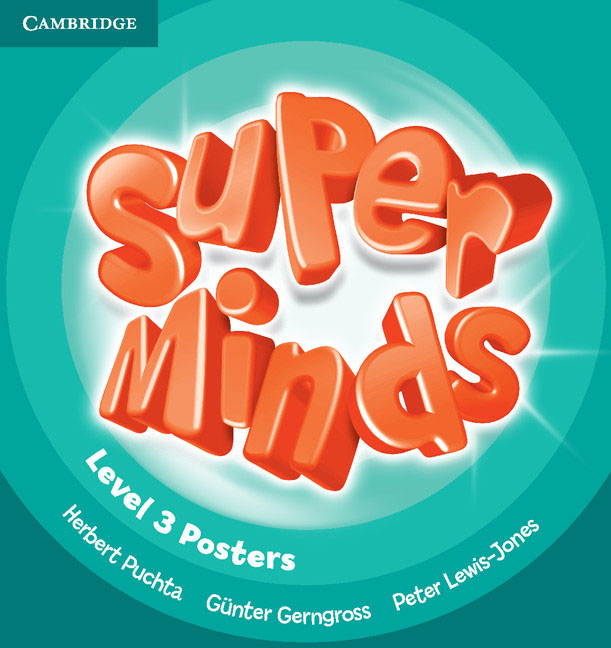 Super Minds Level 3 Posters (10) super minds level 6 workbook with online resources