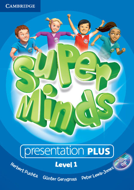 Super Minds Level 1 Presentation (+ DVD-ROM) super minds level 6 workbook with online resources