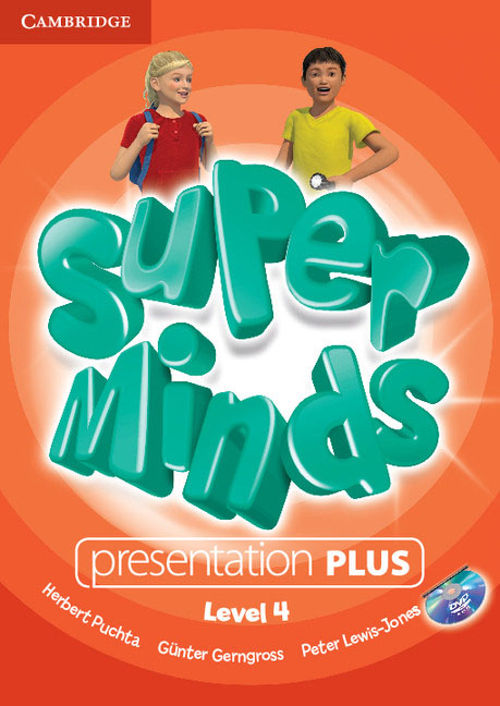 Super Minds Level 4 Presentation Plus DVD-ROM simple minds simple minds sparkle in the rain 4 cd dvd
