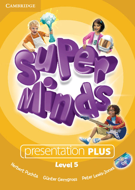 Super Minds Level 5 Presentation Plus DVD-ROM simple minds simple minds sparkle in the rain 4 cd dvd