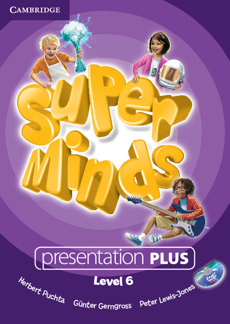 Super Minds Level 6 Presentation Plus DVD-ROM simple minds simple minds sparkle in the rain 4 cd dvd