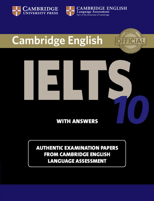 Cambridge IELTS 10 Student's Book with Answers cambridge english empower starter workbook no answers downloadable audio