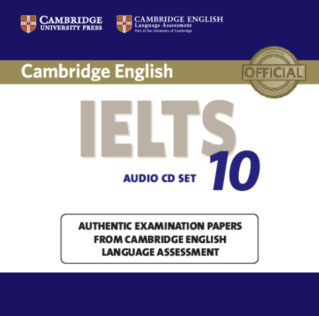 Cambridge IELTS 10 Audio CDs (2) cambridge preliminary english test 6 self study pack student s book with answers and audio cds 2