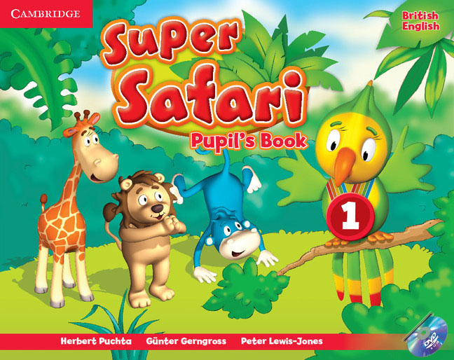 Super Safari: Level 1: Pupil's Book (+ DVD-ROM)