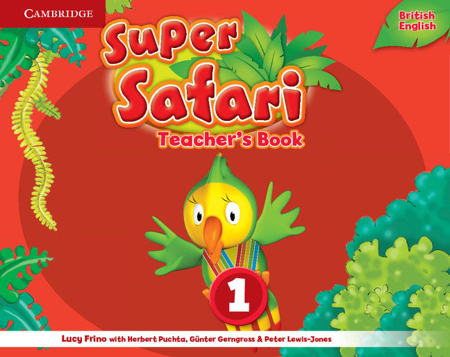 Super Safari: Level 1: Teacher's Book super safari 2 pupil s book dvd r
