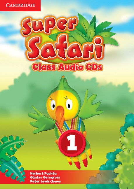 Super Safari Level 1 Class Audio CDs (2) super safari 2 pupil s book dvd r