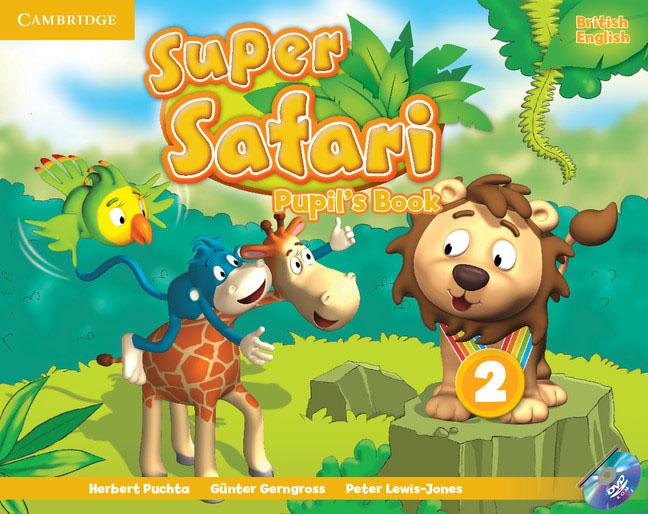 Super Safari: Level 2: Pupil's Book (+ DVD-ROM) super safari level 1 posters