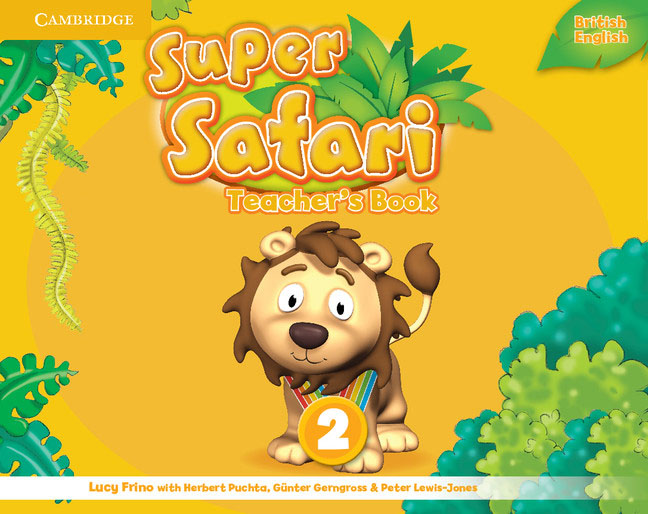 Super Safari Level 2 Teacher's Book super safari 2 pupil s book dvd r