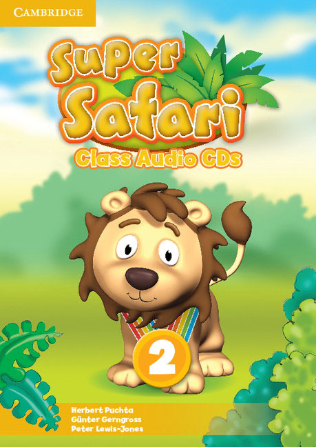 Super Safari Level 2 Class Audio CDs (2) super safari level 2 class audio cds 2