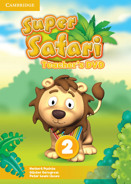 Super Safari Level 2 Teacher's DVD super safari 1 pupil s book dvd r