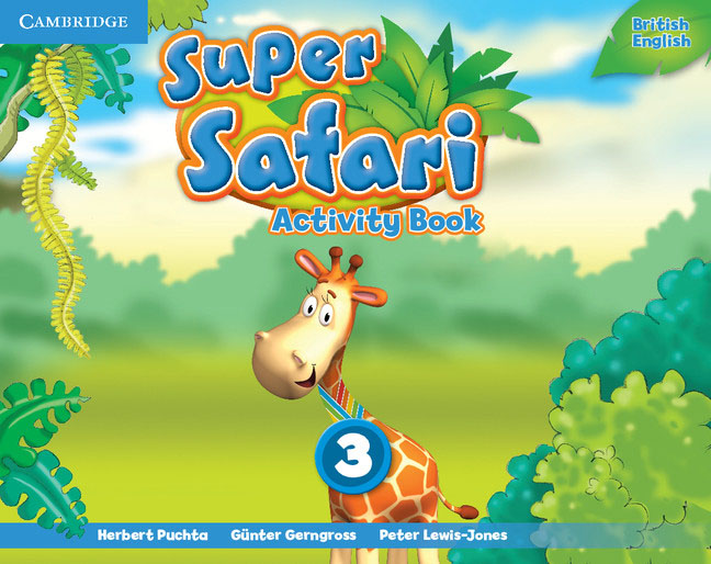 Super Safari: Level 3: Activity Book