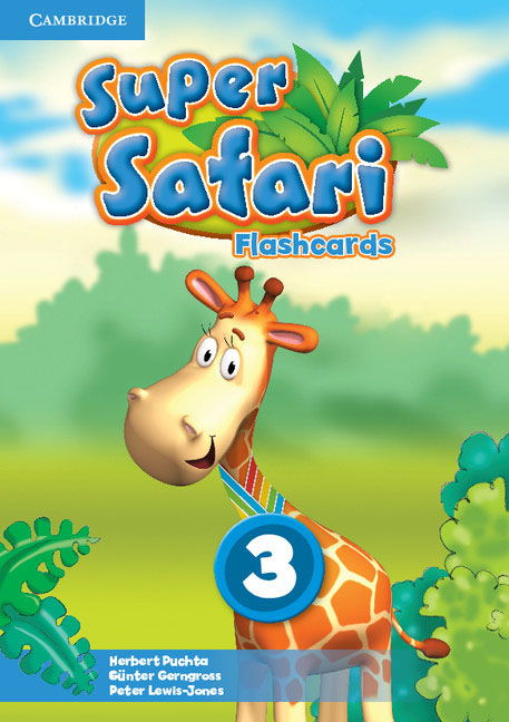 Super Safari Level 3 Flashcards (Pack of 78) super safari 2 pupil s book dvd r