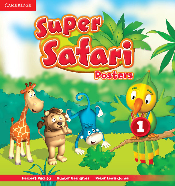 Super Safari: Level 1: Posters catrice контур для глаз kohl kajal 040 white белый 1 1гр
