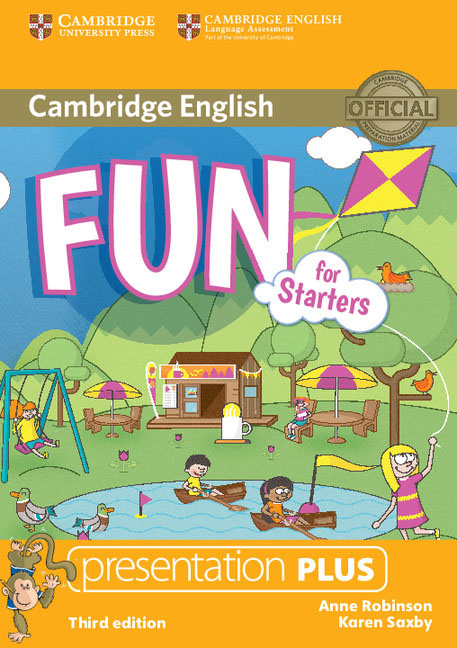 Fun for Starters Presentation Plus DVD-ROM сумка the cambridge satchel