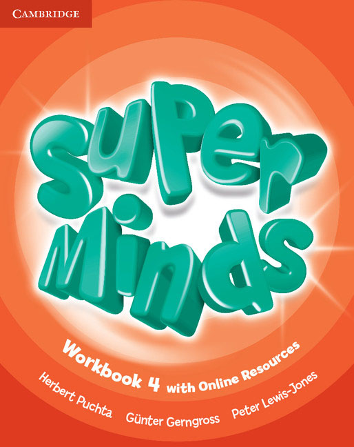 Super Minds Level 4 Workbook with Online Resources super minds level 6 workbook with online resources