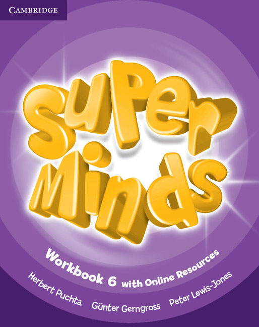 Super Minds: Level 6: Workbook with Online Resources super minds level 6 workbook with online resources