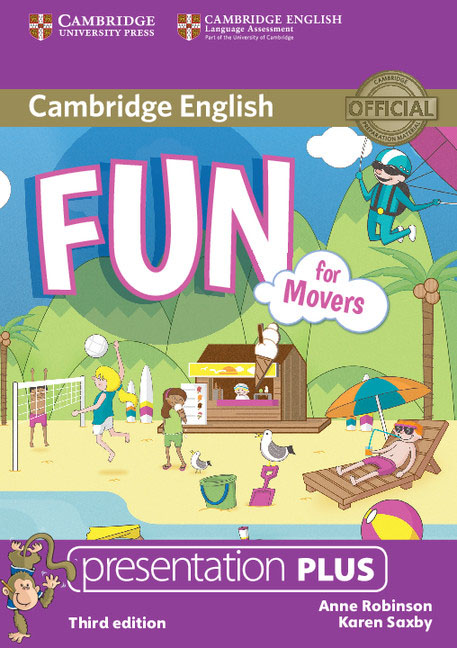 Fun for Movers Presentation Plus DVD-ROM gray e practice tests for the prelliminary english test teacher s book